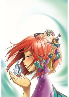 W.I.T.C.H cover 01