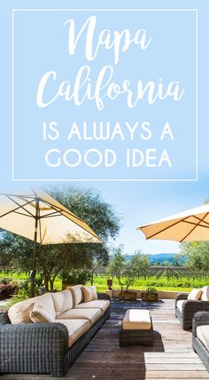 Did somebody say wine? Try some of the world's finest wine in one of California's most beautiful valleys. #Napa #California #WineCountr