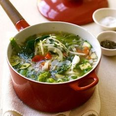 This is a great soup- so healthy, and fantastic for weight loss!