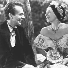 """Raymond Massey as Abraham Lincoln and Ruth Gordon as Mary Todd Lincoln in """"Abe Lincoln in Illinois"""" by John Cromwell, 1940 **** Lincoln Life, Mary Todd Lincoln, Abraham Lincoln, Barton Maclane, Raymond Massey, Donna Douglas, Ruth Gordon, Ethel Waters, Hattie Mcdaniel"""