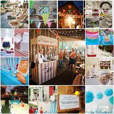 Carnival Wedding Themes