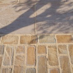 Global Stone Paving-Antique Sandstone 'Old Rectory Victorian'-Buff Brown-SETTS Wood Walkway, Driveway Paving, Paving Slabs, Paving Stones, Driveway Design, Driveway Ideas, Front Walkway, Sandstone Pavers, Sandstone Color
