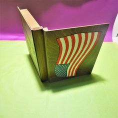 Wooden Jewelry Boxes, Wooden Boxes, Wooden Ornaments, Beautiful Images, American Flag, Special Gifts, Hand Painted, Unique, How To Make