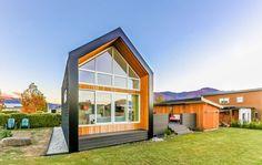 façade principale - Tiny-house-concept - Nouvelle-Zelande, Wanaca © Living Big in a Tiny House