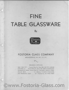 Fostoria 1936 Page 1