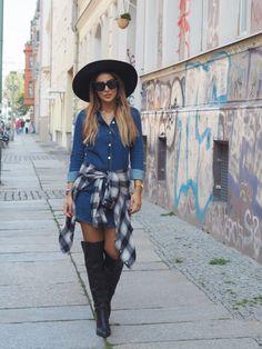 Shirt Dress Ideas   fashjourney.com
