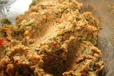 ... Crunchy Red Swiss Chard Falafel | Food | Pinterest | Falafels, Red and