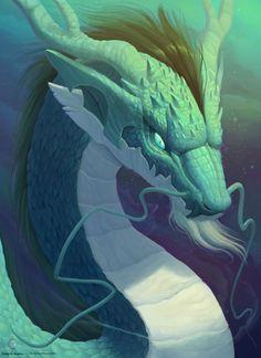 Eastern dragon by CindyAA.deviantart.com on @DeviantArt