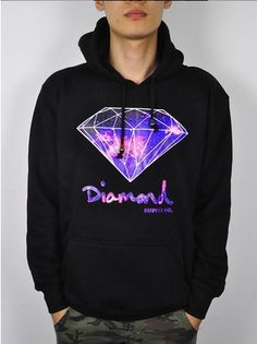 Galaxy-print diamond hoodie from Super NELLY-fashion factory on Aliexpress. $26.41