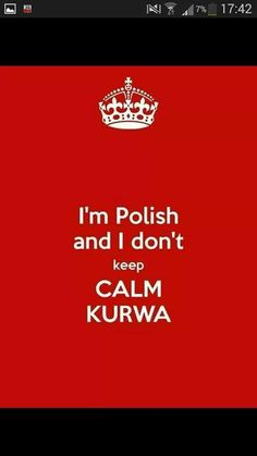 Haha polish people are so vivacious
