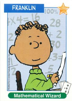 Peanuts MetLife All Star Cards - Franklin