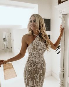 HARLYN ✨ Did you know that you can customize this bodice to be a plunging neckline rather than a halter style? That's the beauty of having… Plunging Neckline, Bodice, Bodycon Dress, Bridal, Beauty, Instagram, Dresses, Style, Fashion