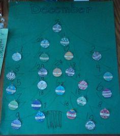 The names of Jesus Advent calendar craft