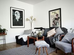 Apartment with vintage touch Follow Gravity Home: Blog - Instagram - Pinterest…