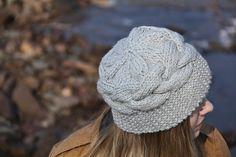 Ravelry: Silt & Stone Hat pattern by Jennifer Dassau. bulky, cables