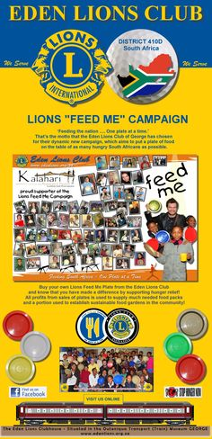 Club Promotional Banner - Feed Me Campaign