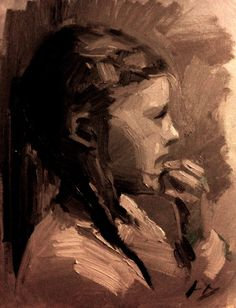 Mary (Fast child portrait)- sean dietrich