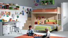More bunk beds