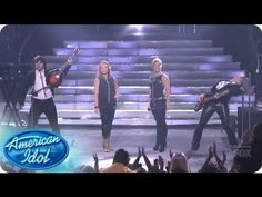 The Band Perry and Janelle Arthur Perform Done - AMERICAN IDOL SEASON 12