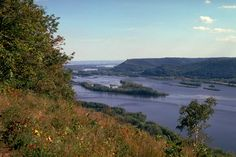 Perrot State Park in Trempealeau, Wisconsin has the best view of the Mississippi River anywhere! To get here, you'll have to climb more than 250 feet several times.