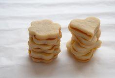 suikervrije limoenkoekjes met jam