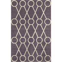 Cinzia Warm Grey / Ivory Area Rug