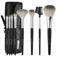 Deluxe Charcoal Antibacterial Brush Set by Sephora Collection #19