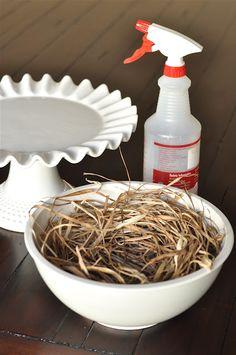 how to make a birds nest