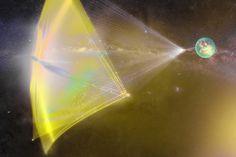 Breakthrough starshot illustration