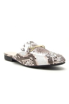 91292d00eb0 Low Rider Slip On Loafers in Snakeskin