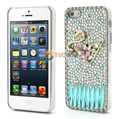 Deluxe Sparkling Swan Plating Diamond Case for iPhone 5 5s