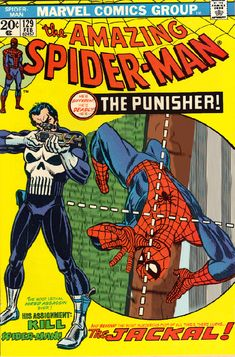 The Amazing Spider-Man Vol. 1 #129 | Community Post: 30 Animated Comic Book Covers That Are Downright Hypnotizing