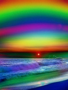 Rainbow Beach...