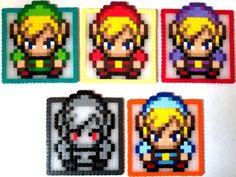 The Legend of Zelda Themed Coaster Set