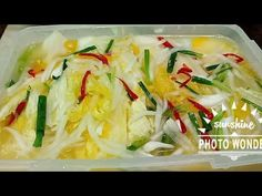 Kimchi, Korean Food, No Cook Meals, Cabbage, Cooking Recipes, Chicken, Vegetables, Meat, Korean Recipes