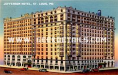 Jefferson Hotel Postcards from the Dr by geekdetails on Etsy, $6.00