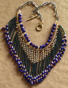 Native American style fringed beaded by MontanaTreasuresbyMJ