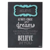 The Furniture Store - Gifts - Furniture - Homeware Chalk Fonts, Chasing Dreams, Unusual Gifts, Gifts For Teens, Dorm Decorations, Home Decor Accessories, Believe In You, Best Gifts, How To Remove