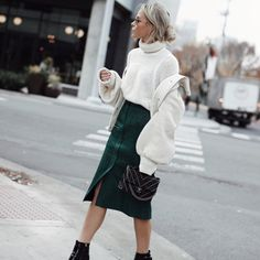 ALL IMAGES: JOHN HILLIN MIDI | KNIT | JACKET | BOOT | CHANEL Putting my sneaker and bomber habit on hold for a minute over here while I wear something a little more ladylike. Casual cool looks may …