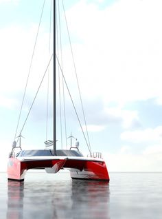 View our gallery of Interior and Exterior views. Underwater viewing lounge, wind turbines, galley, and advanced features. Sailing Catamaran, Yacht Boat, Pontoon Boat, Sailing Ships, Yacht Design, Boat Design, Sailboat Living, Boat Projects, Yacht Interior