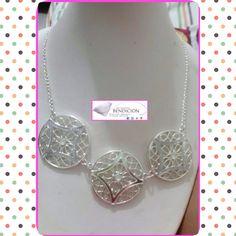 ¡Collar Disponible!, entrega inmediata con #delivery y #envío disponible.  #accesoriosbendicion #BlessingStyle #collares #collar  #disponible