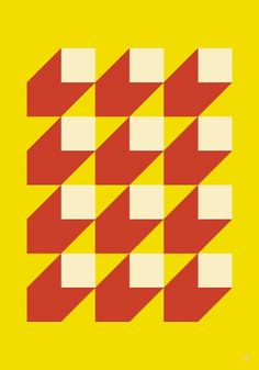 Saved by my.s art & design (mysss). Discover more of the best Design, -, Art, Graphic, and Pattern inspiration on Designspiration Op Art, Pattern Art, Abstract Pattern, Pattern Ideas, Geometry Pattern, Pattern Images, Red Pattern, Motif Vintage, Poster S