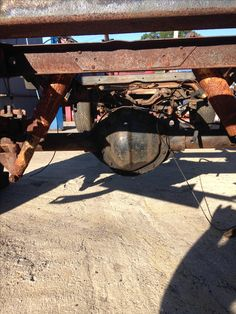 49 Best 1950 Chevy 3600 Front and Rear Axle Swap Project images