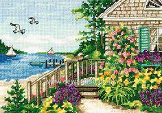 Bayside Cottage Cross Stitch Kit