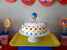 Sonic the Hedgehog Birthday Party Ideas | Photo 1 of 21 | Catch My Party