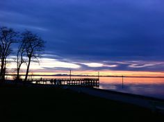 Beautiful sunset at Crescent Beach, #Surrey, BC