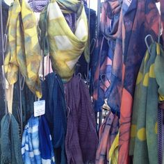scarves from Honest Alchemy