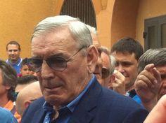 Gigi Riva inaugura a Cagliari il viale Campioni d'Italia