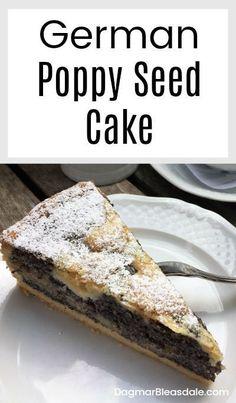 nomnomnom Poppy Seed Cake Recipe -- German Streusel Mohnkuchen Save Extra on Low-cost Wedding ceremo Baking Recipes, Cake Recipes, Dessert Recipes, Snack Recipes, Köstliche Desserts, Delicious Desserts, Plated Desserts, German Desserts, Sweet Desserts