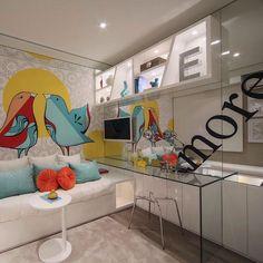 Quarto da menina❤️ #c_arq #projetoc_arq #archlovers #cool #details #amazing #wallart #pinturaespecial #homedecor #homedesign #design #interiordesign #decor #decora #style #interiors #designdeinteriores #bedroom #girlsbedroom #quartodemenina #colours. @golovaty76